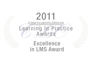 UpsideLMS won excellence award Chief Learning Officer