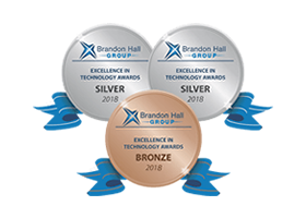 3 Brandon Hall Excellence in Learning Technology Awards: