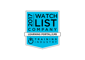 Featured in Training Industry's 2017 Learning Portal Companies Watch List