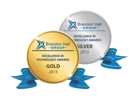 2 Brandon Hall Excellence in Learning Technology Awards (UpsideLMS)