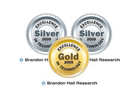 3 Brandon Hall Excellence in Learning Technology Awards (UpsideLMS)